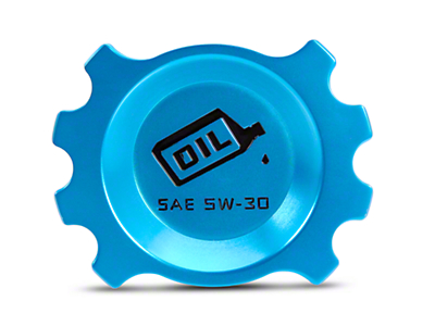 Modern Billet Anodized Blue Oil Cap (05-10 V6)