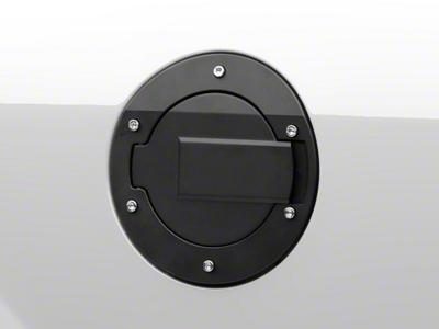 MMD Black Billet Aluminum Fuel Door (05-09 All)
