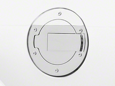 MMD Chrome Billet Aluminum Fuel Door (05-09 All)