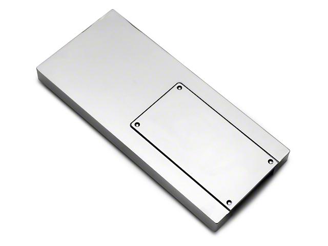 modern billet chrome billet mustang fuse box cover erican muscle modern billet chrome fuse box cover 10 14 all