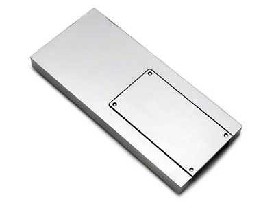 Chrome Fuse Box Cover (10-14 All)