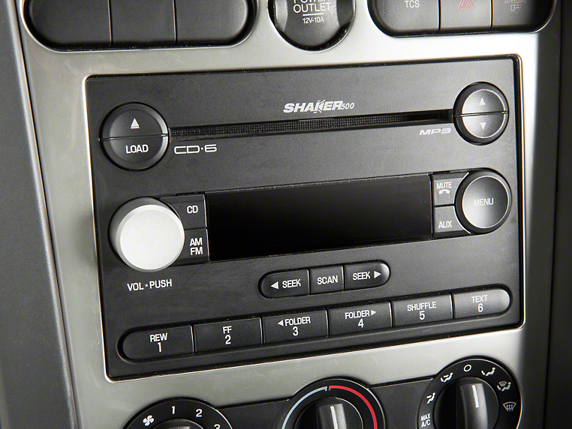 Modern Billet Satin Radio Knob (05-09 All)