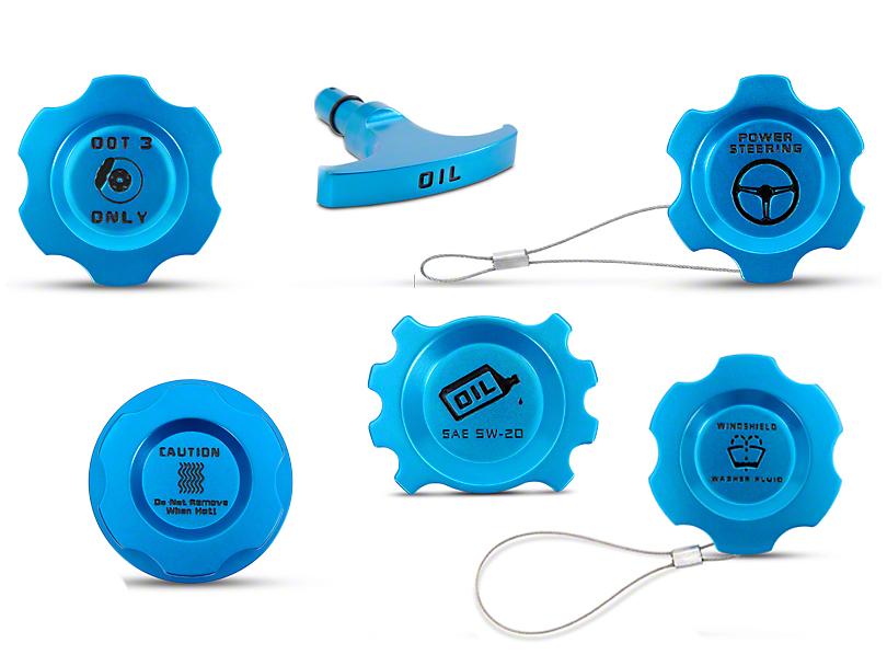 Modern Billet Anodized Blue Underhood Dressup Kit (05-09 GT)