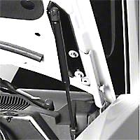 MMD Bolt On Hood Strut Kit - Black (05-14 All)