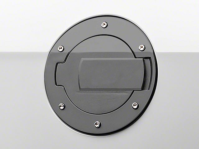 MMD Black Billet Aluminum Fuel Door (10-14 All)