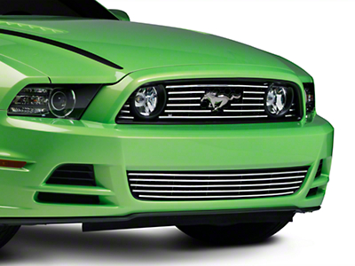 Modern Billet Polished Grille - Combo (13-14 GT)