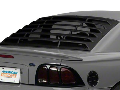 Add MMD Rear Window Louvers - ABS