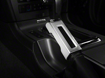 Satin E-Brake Handle Cover (10-14 Rubber, 10-12 Leather)