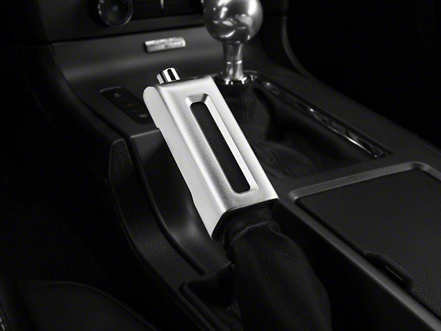 Modern Billet Satin E-Brake Handle Cover (13-14 Leather)