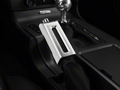 Satin E-Brake Handle Cover (13-14 Leather)