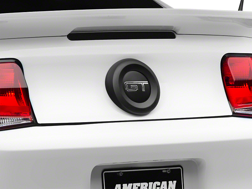 MMD Trunk Emblem Surround - Matte Black (10-12 All)