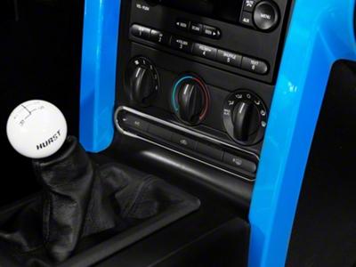 Modern Billet Chrome Dash Button Bezel (05-09 All)