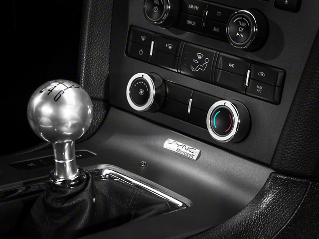 Modern Billet Chrome HVAC Control Knob Covers (10-14 w/o NAV)