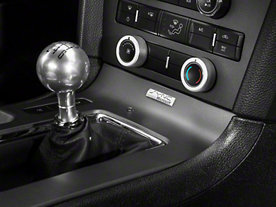 Modern Billet Satin HVAC Control Knob Covers (10-14 w/o NAV)