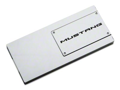 Add Modern Billet Chrome Fuse Box Cover - Mustang Lettering (10-14 All)