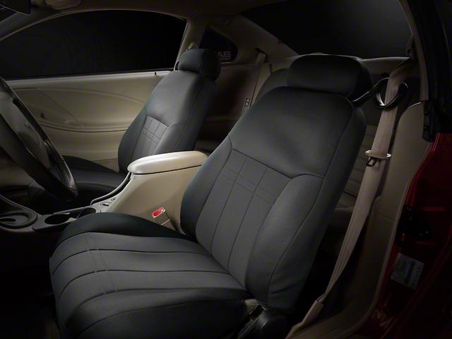 Caltrend NeoSupreme Front Seat Cover - Black (99-04 All)