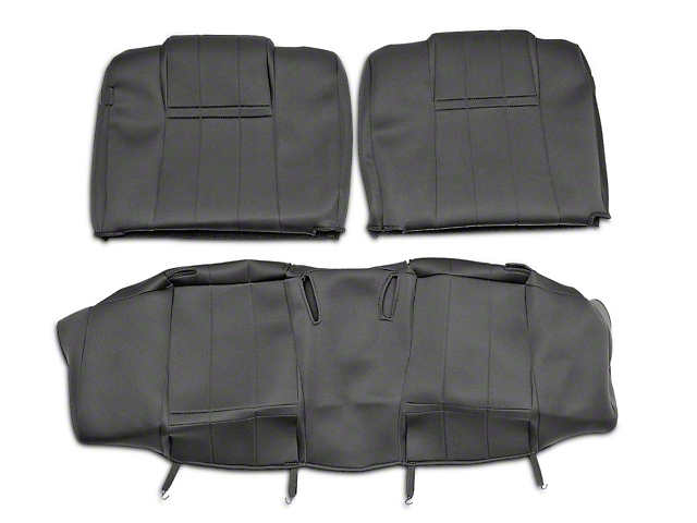 Caltrend NeoSupreme Rear Seat Cover - Black (05-09 All)