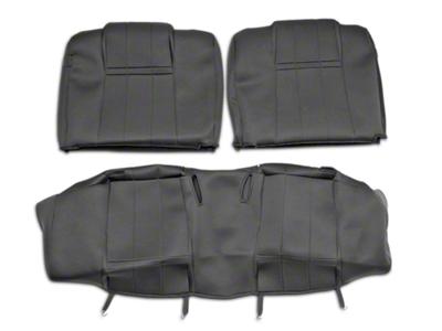 Caltrend NeoSupreme Rear Seat Cover - Black (05-09 All)