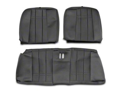 Caltrend NeoSupreme Rear Seat Cover - Black (99-04 All)