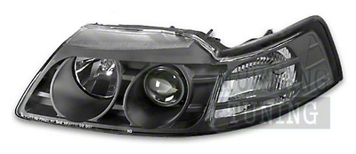 Black Projector Headlights (99-04)