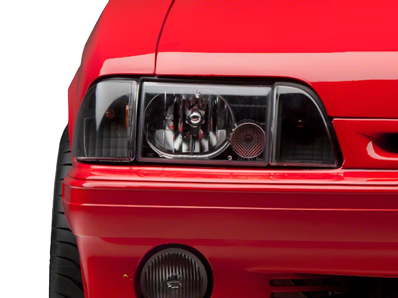 Black Headlights (87-93 All)