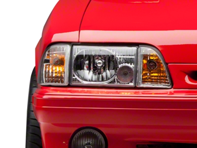 Chrome Headlights (87-93 All)