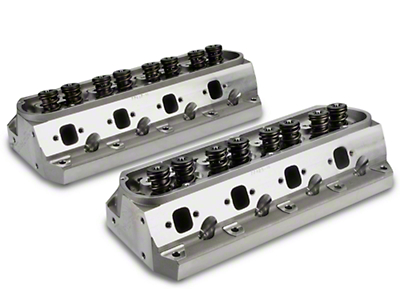 Trick Flow Twisted Wedge Cylinder Heads - 64cc (79-95 5.0L)
