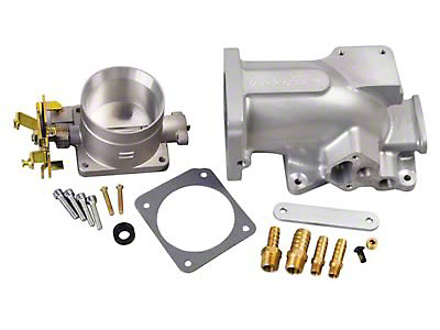 Trick Flow 70mm Throttle Body & Plenum Combo (96-04 GT)