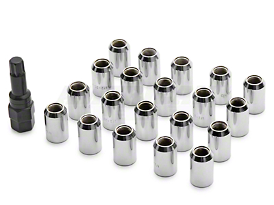 Chrome Locking Lug Nuts (79-14 All)