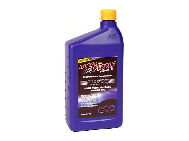 Royal Purple 5w20 Mustang Motor Oil 1520 Free Shipping