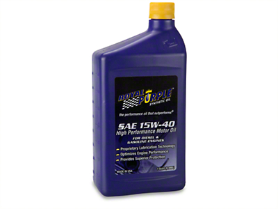 Royal Purple 15w40 Motor Oil