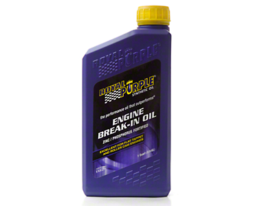 Royal Purple Engine Break In Oil