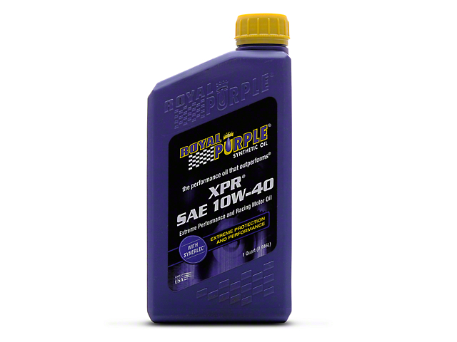 Royal Purple XPR Race 10w40 Motor Oil