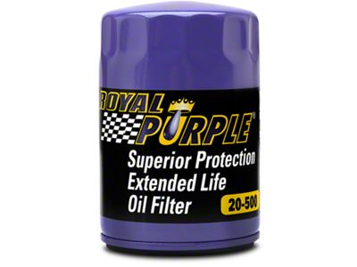 Add Royal Purple Extended Life Oil Filter