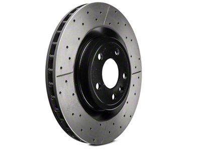 DBA X-Gold Series Cross Drilled/Slotted Rotors - Front Pair (11-14 GT)