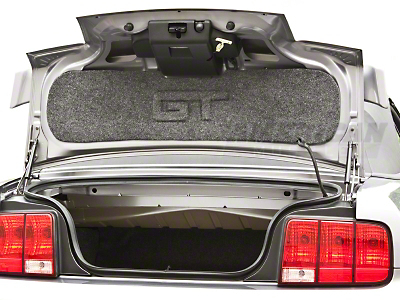 Trunk Lid Mat - Embossed GT (05-09 GT)