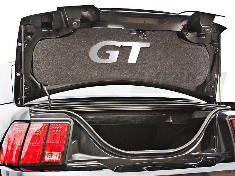 Trunk Lid Mat - Mirror GT (99-04 GT)