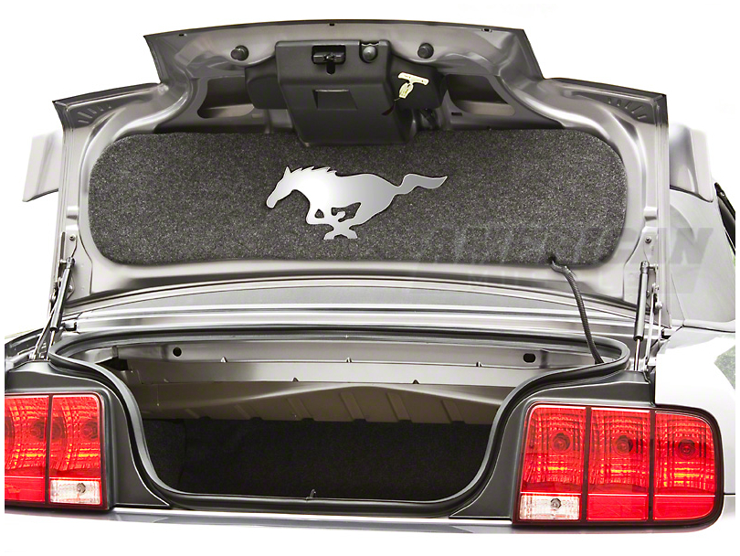 TruShield Trunk Lid Mat - Mirror Pony (05-09 All)