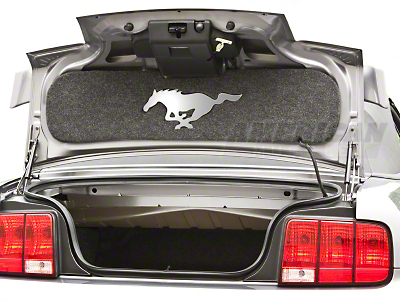 Trunk Lid Mat - Mirror Pony (05-09 All)