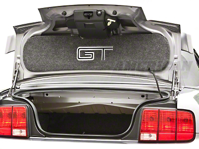 Trunk Lid Mat - Lined Mirror GT (05-09 GT)
