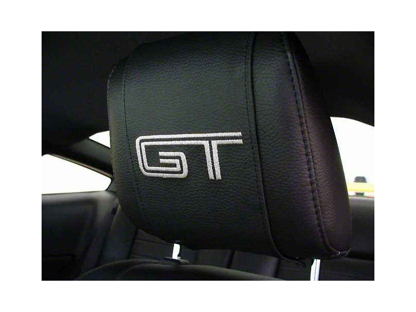 SpeedForm Head Rest Cover - GT Logo (05-09 All)