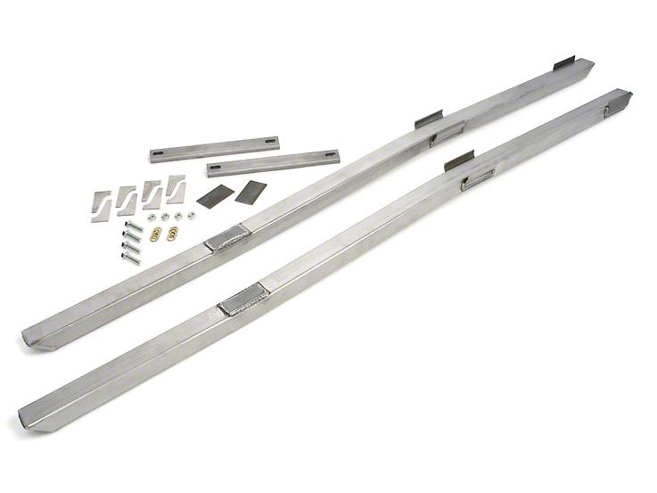 Maximum Motorsports Full Length Subframe Connectors - Bare (79-04 All)