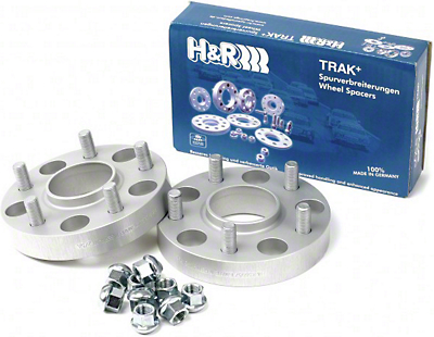 H&R Trak+ Hubcentric Wheel Spacers - 35mm - Pair (94-14 All)