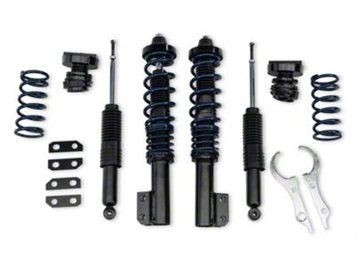 Add SR Performance V1 Height Adjustable Coilover Kit (79-04 All, Excludes IRS)