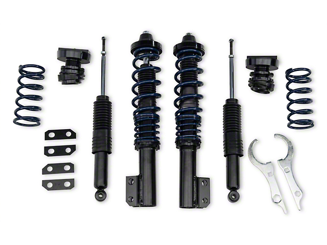 SR Performance V1 Height Adjustable Coilover Kit (79-04 All, Excludes IRS)