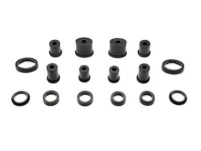 Prothane Rear Control Arm Bushings - Oval (99-04 All, Excludes IRS)