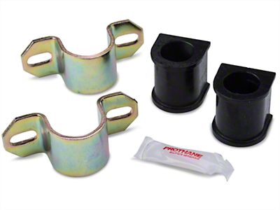 Prothane Front Sway Bar Bushings - 27mm w/ Brackets (85-93 All)