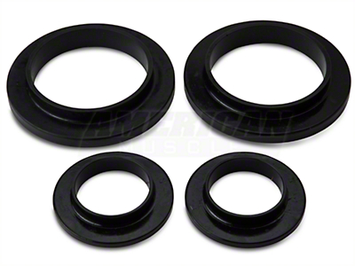 Prothane Spring Isolators - Rear (79-04 GT, V6, Mach 1; 93-98 Cobra)