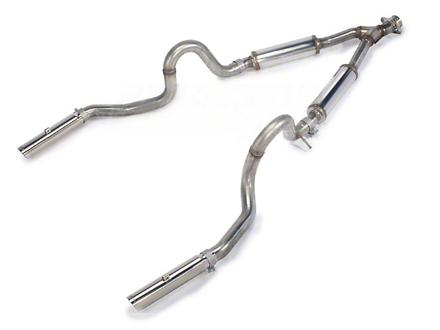 Dual exhaust for ford mustang v6