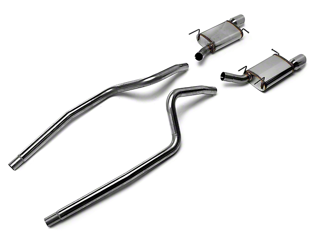 Magnaflow Street Cat-Back Exhaust - 4 in. Tips (13-14 V6)
